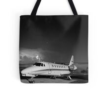 Charged Tote Bag
