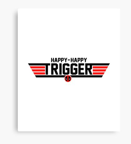 Happy Trigger Canvas Print