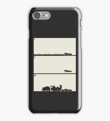 Back to the Future Trilogy - Beige iPhone Case/Skin
