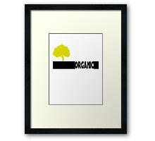 Organic Tree Framed Print
