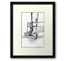 What's The Most You Ever Lost In A Coin Toss? Framed Print