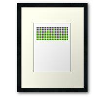 Volume Control Framed Print