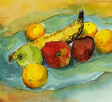 A Gathering of Fruit by Barbara Nye