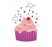 Sweet Cupcake Photographic Print