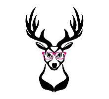 Nerdy Deer  Photographic Print