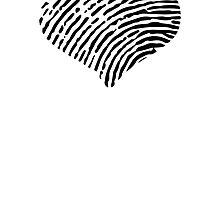 Hearted Fingerprint by GenerationShirt