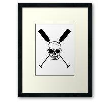 Dragonboat Canoe Skullhead Framed Print