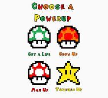 Mario Mushrooms 2 Unisex T-Shirt