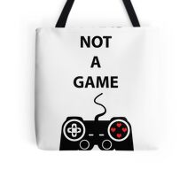 Love is not a Game Tote Bag