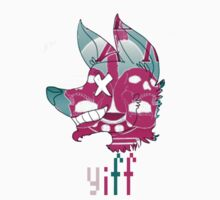 YIFF- pop art t-shirt by milkjug