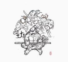 The Fallen - Ninja Turtles homage by D-Tee