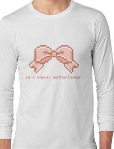 Kawaii motherfucker t-shirt PINK Long Sleeve T-Shirt