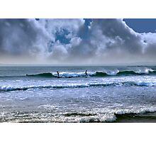 atlantic ocean storm surfing Photographic Print
