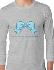 Kawaii motherfucker t-shirt LIGHT BLUE Long Sleeve T-Shirt