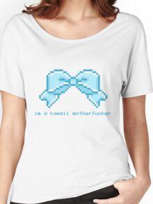 Kawaii motherfucker t-shirt LIGHT BLUE Women's Relaxed Fit T-Shirt
