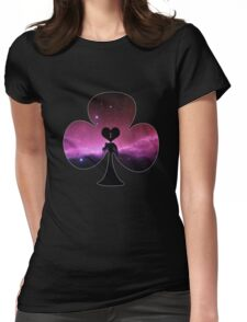 I Love Astronomy Club Womens Fitted T-Shirt