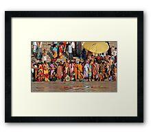 The Ganges Framed Print