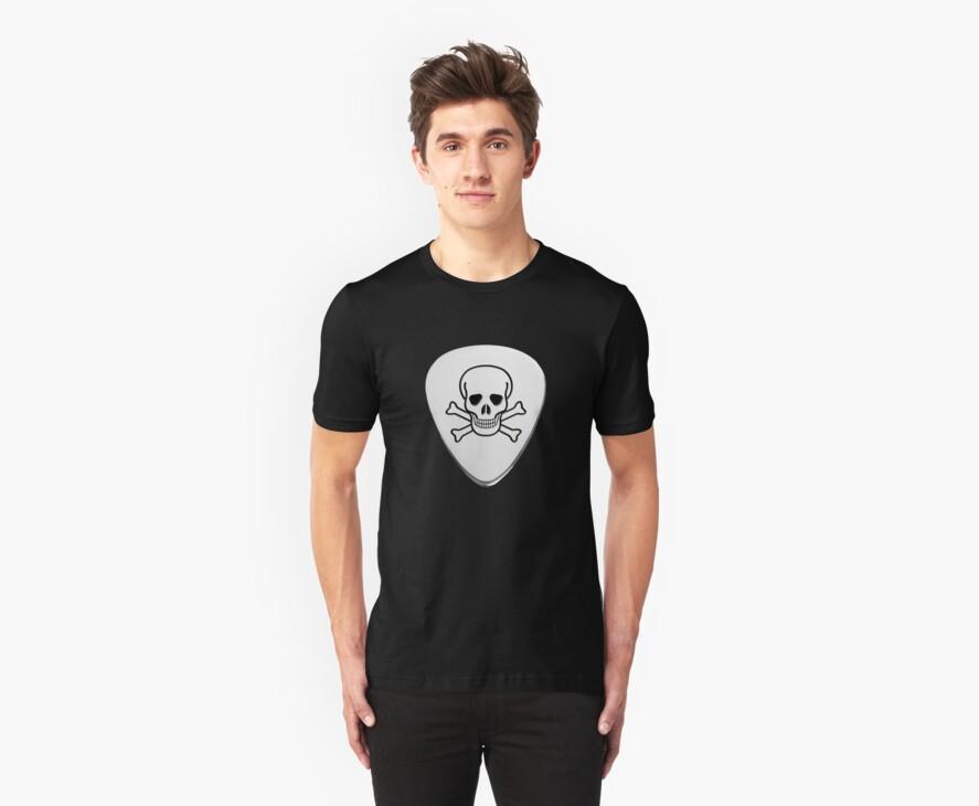 Skull & Bones Plectrum by MrPeterRossiter