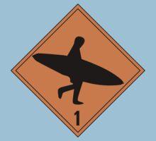 Danger Sign Kids Clothes