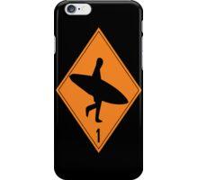Danger Sign iPhone Case/Skin