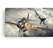 Watch your six! Canvas Print