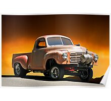 1948 Studebaker 'Gas'r Up' Pick-Up Poster