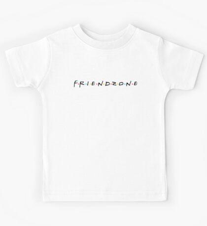 FRIENDZONE (black) Kids Tee