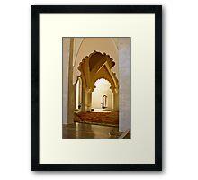 Sultan habitat Framed Print