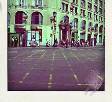 barcelona streets by anastasia papadouli