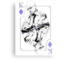 King of Blue Diamonds Metal Print