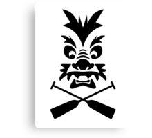 Dragonboat Badge Canvas Print