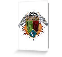 Supernatural Coat of Arms #1 Greeting Card