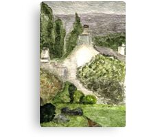 Rydal Mount House Home of William Wordsworth Canvas Print