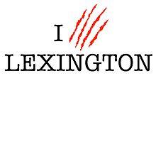 I (CLAW)VE LEXINGTON by omondieu