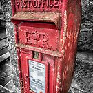 British Post Box by Adrian Evans