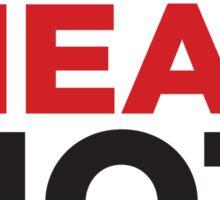 EAT MEAT NOT WHEAT Sticker