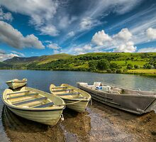 Nantlle Valley by Adrian Evans