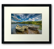 Nantlle Valley Framed Print