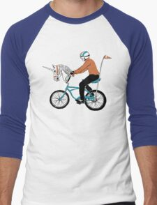 Unicycle Men's Baseball ¾ T-Shirt
