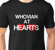 Whovian at Hearts - white Unisex T-Shirt