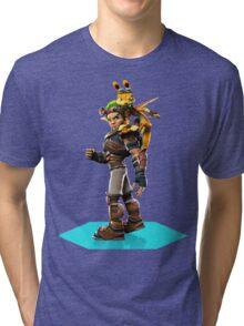 Jak and Daxter Tri-blend T-Shirt