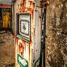 Rusty Gas Pump by Adrian Evans