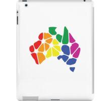 Gay Marriage Rights Australia (Rainbow Coloured Logo) - iPad iPad Case/Skin