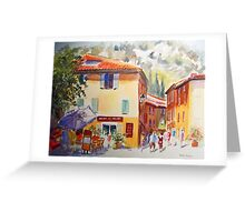 A corner of Provence Greeting Card