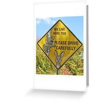 Love the Wildlife Greeting Card