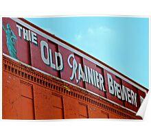 Rainier Brewery Facade Poster