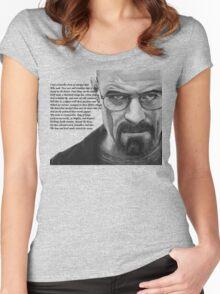 Breaking Bad - Walt Ozymandias Women's Fitted Scoop T-Shirt