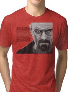 Breaking Bad - Walt Ozymandias Tri-blend T-Shirt