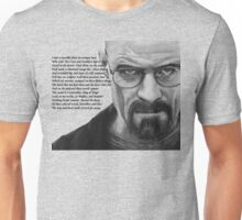 Breaking Bad - Walt Ozymandias Unisex T-Shirt