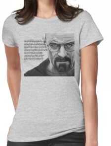 Breaking Bad - Walt Ozymandias Womens Fitted T-Shirt